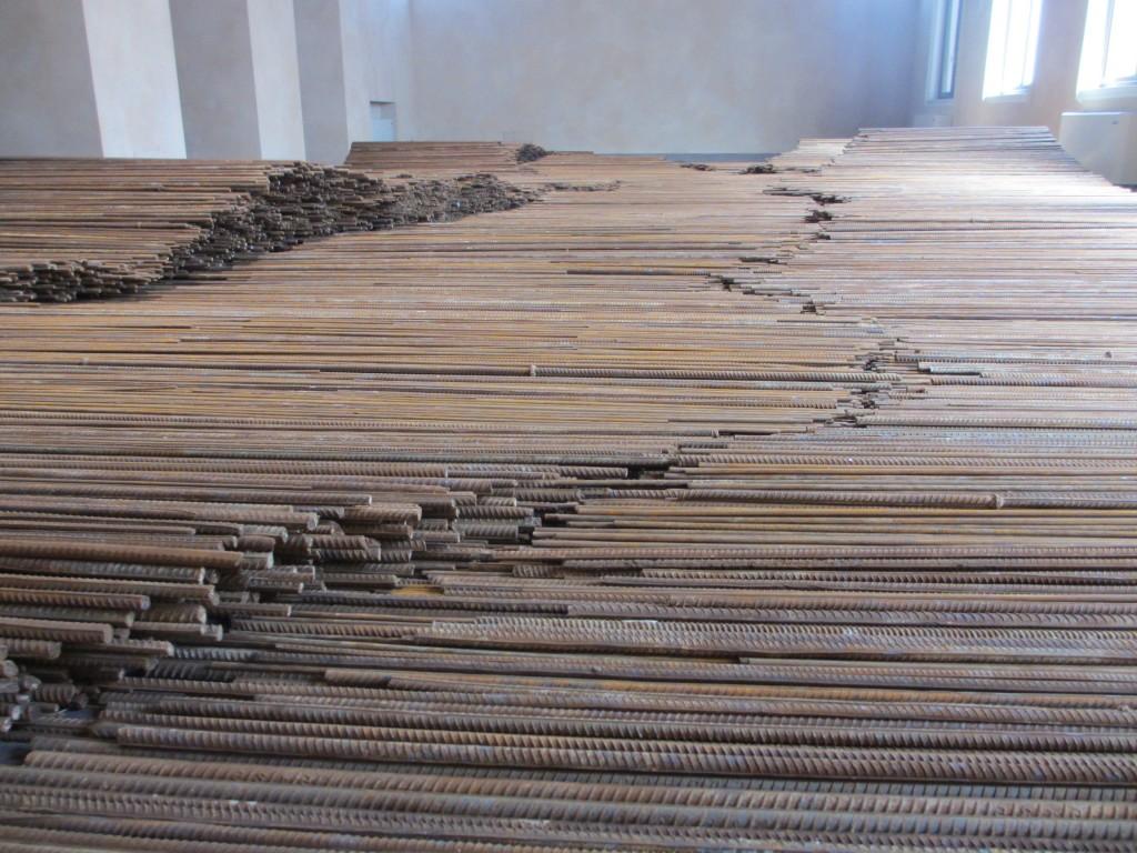 150 Tonnen Stahl aus Sichuan (Foto R.W.)