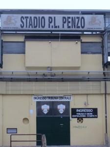 Hier geht´s lang für die Fußballfans Venedigs (Foto R.W.)