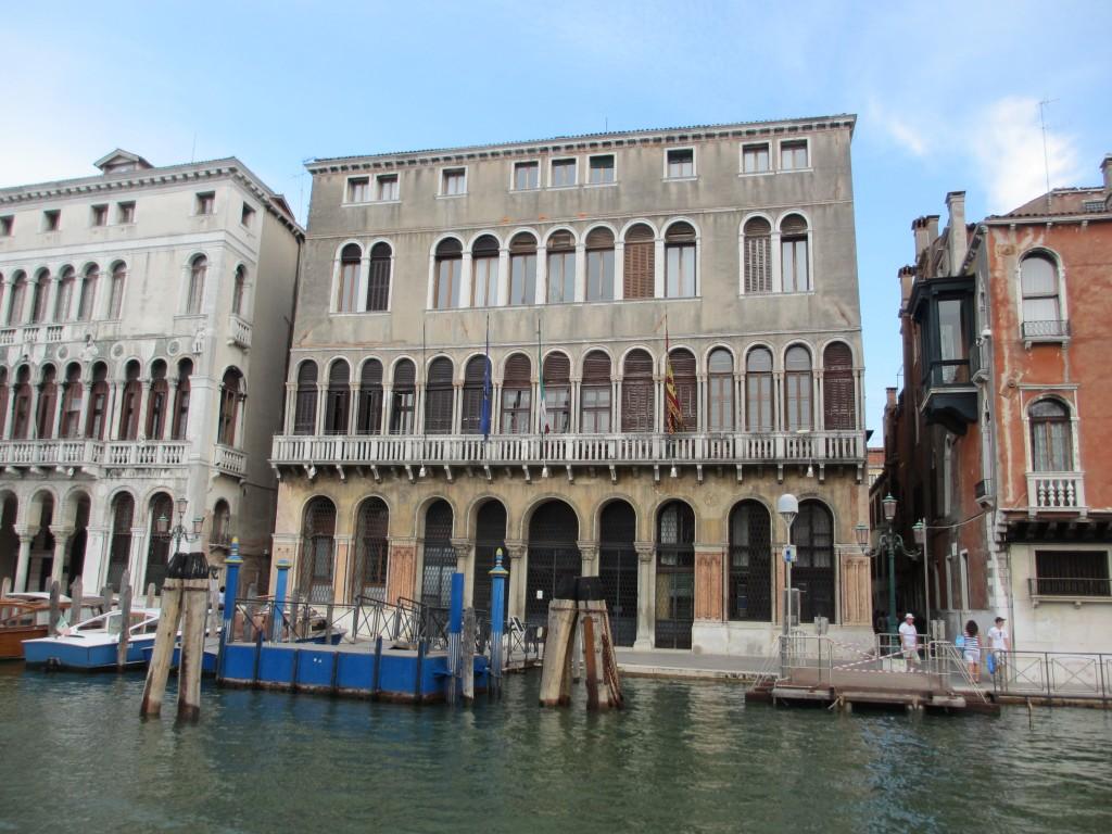 Amtssitz des Bürgermeisters am Canal Grande (Foto R.W.)