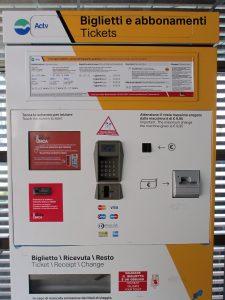 Diese Automaten werden gegen neue ausgetauscht ( Foto RW)